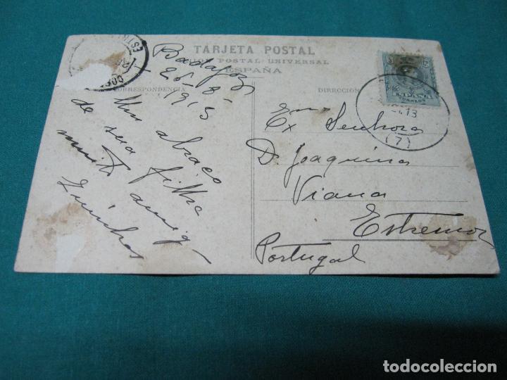 Postales: POSTAL ANTIGUA INTERIOR PUENTE DE PALMAS VICENTE RODRIGUEZ 26-8-1915 - Foto 3 - 127769223