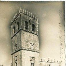 Postales: BADAJOZ-CATEDRAL- FFI Nº 16-FOTOGRÁFICA- AÑOS 50- RARA. Lote 127816651