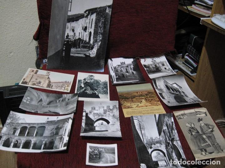 11 POSTALES MAS 2 FOTOS UNA DE GRAN TAMAÑO Y OTRA PEQUEÑA- DE CACERES Y PROVINCIA Y DE BADAJOZ Y PRO (Postales - España - Extremadura Moderna (desde 1940))