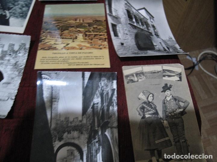 Postales: 11 POSTALES MAS 2 FOTOS UNA DE GRAN TAMAÑO Y OTRA PEQUEÑA- DE CACERES Y PROVINCIA Y DE BADAJOZ Y PRO - Foto 2 - 127979495