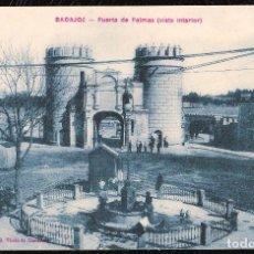 Postales: POSTALES - BADAJOZ. PUERTA DE PALMAS.. Lote 128476107