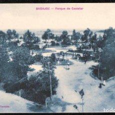 Postales: POSTALES - BADAJOZ. PARQUE DE CASTELAR.. Lote 128476423