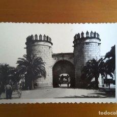 Postales: POSTAL BADAJOZ - PUERTA DE LA PALMA. Lote 131546346