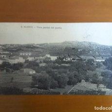 Postales: POSTAL ALANGE - VISTA PARCIAL DEL PUEBLO. Lote 131546490