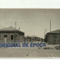 Postales: (PS-57581)POSTAL FOTOGRAFICA DE DON BENITO-CALLE DE SAN JUAN RECIENTEMENTE PLANTADA DE MORERAS. Lote 132159278