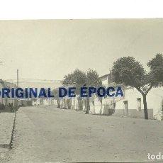 Postales: (PS-57583)POSTAL FOTOGRAFICA DE VALENCIA DE ALCANTARA-CALLE DE RAMON Y CAJAL. Lote 132168994