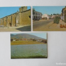 Postales: TRES POSTALES CAÑAVERAL, CACERES. Lote 132354426