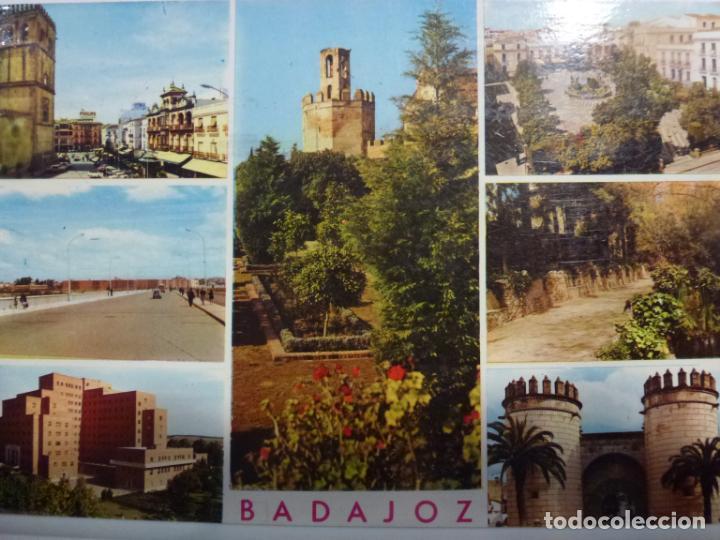 POSTAL. 2031. BADAJOZ. ED. ARRIBAS. CIRCULADA. (Postales - España - Extremadura Moderna (desde 1940))