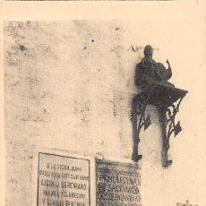Postales: ALANGE.- LAPIDA Y ESTATUA ROMANA. Lote 133608230