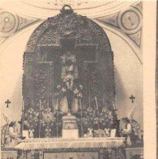 Postales: ALANGE.- CAPILLA DEL SAGRARIO Y SEÑOR DEL SOCORRO. Lote 133608282