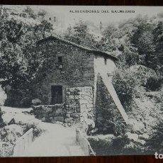 Postales: POSTAL DE LOS BAÑOS DE MONTEMAYOR, ALREDEDORES DEL BALNEARIO - FOTOTIPIA DE HAUSER Y MENET, NO CIRC. Lote 133840350