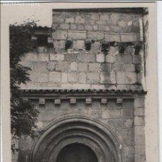 Postales: TARJETA POSTAL DE MÉRIDA. PORTADA ROMÁNICA DE LA BASÍLICA DE SANTA EULALIA. SIGLO XIII.. Lote 134491186