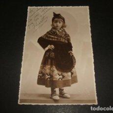 Postales: TRUJILLO CACERES NIÑA VESTIDA CON TRAJE TIPICO DE TRUJILLO POSTAL FOTOGRAFICA AÑOS 30 DIEGUEZ FOTOGR. Lote 138815270