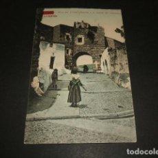 Postales: CACERES ARCO DEL CRISTO (BAJADA A LA FUENTE DEL CONCEJO) E. RAMOS VALLADOLID ED. PAPELERIA ALCOYANA. Lote 138861538