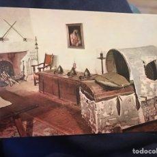 Postales: LOTE 6 POSTALES MONASTERIO DE SAN JERÓNIMO DE YUSTE. Lote 139200541