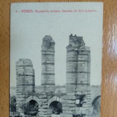 Postais: MERIDA - ACUEDUCTO ROMANO, LLAMADO DE SAN LAZARO. 6. Lote 139640326