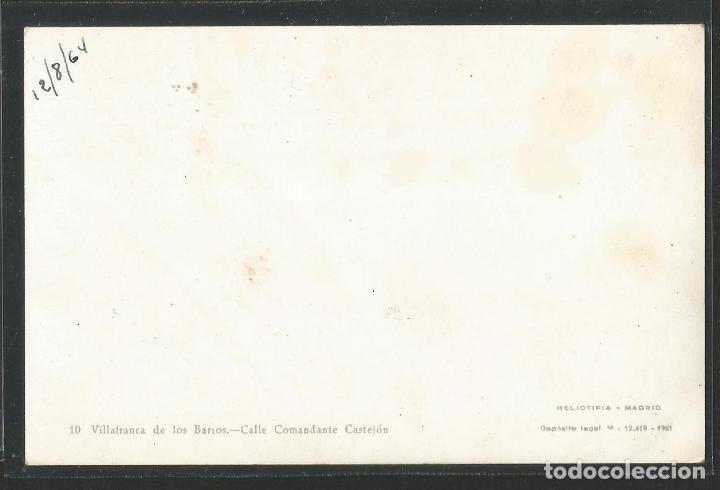 Postales: VILLAFRANCA DE LOS BARROS - CALLE COMANDANTE CASTEJÓN - P27796 - Foto 2 - 139826710