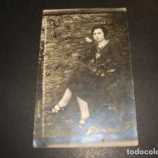 Postales: PERALEDA DE LA MATA CACERES RETRATO DE MUJER POSTAL FOTOGRAFICA 1926. Lote 140473626