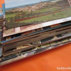 Postales: LOTE 66 BADAJOZ MERIDA ALMENDRALEJO HORNACHOS PUEBLA DE LA CALZADA VILLANUEVA LA SERENA OLIVA FRONTE. Lote 142407114