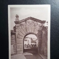 Postales: POSTAL 9. VALENCIA DE ALCÁNTARA - PUERTA DE LAS HUERTAS. Lote 144996838