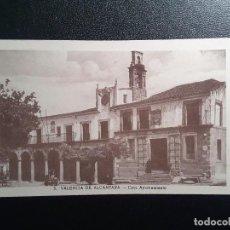 Postales: POSTAL - 3. VALENCIA DE ALCANTARA - CASA AYUNTAMIENTO. Lote 144997282