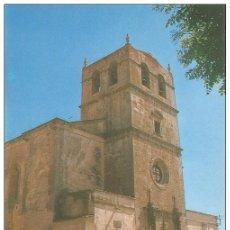 Postales: == D636 - POSTAL - OLIVENZA - BADAJOZ - IGLESIA PARROQUIAL DE SANTA MARIA DEL CASTILLO. Lote 145501106