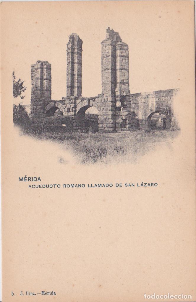 ACUEDUCTO ROMANO LLAMADO DE SAN LÁZARO - MERIDA (BADAJOZ) - J. DÍEZ (Postales - España - Extremadura Antigua (hasta 1939))