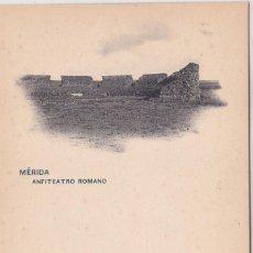 Postales: MERIDA (BADAJOZ) - ANFITEATRO ROMANO. Lote 146317666