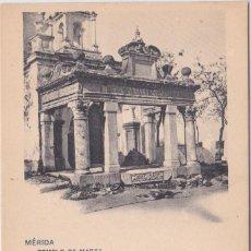 Postales: MERIDA (BADAJOZ) - TEMPLO DE MARTE. Lote 146317790