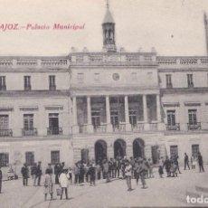 Postales: BADAJOZ - PALACIO MUNICIPAL. Lote 146318378