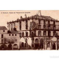 Postales: TRUJILLO.(CÁCERES).- PALACIO DEL MARQUES DE LA CONQUISTA. Lote 147045530