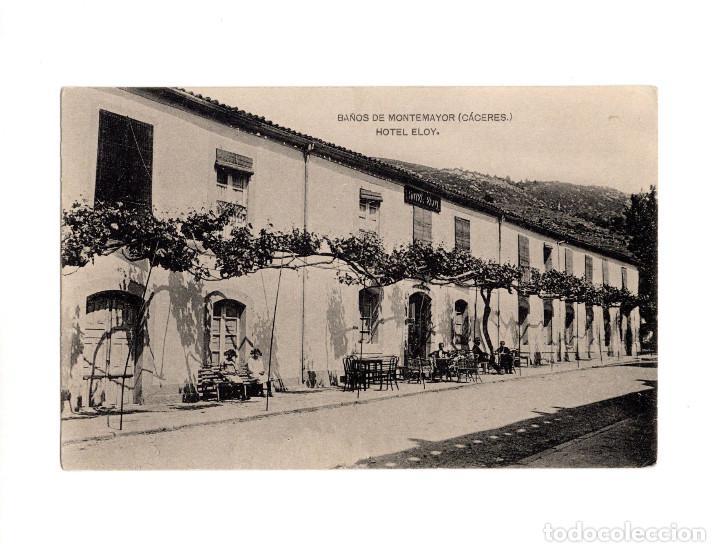 BAÑOS DE MONTEMAYOR.(CÁCERES).- HOTEL ELOY (Postales - España - Extremadura Antigua (hasta 1939))