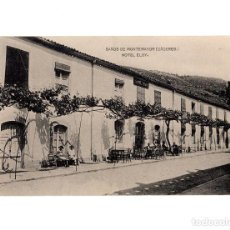 Postales: BAÑOS DE MONTEMAYOR.(CÁCERES).- HOTEL ELOY. Lote 147048802