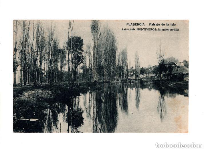 PLASENCIA.(CÁCERES).- PAISAJE DE LA ISLA. PAPELERÍA HONTIVEROS (Postales - España - Extremadura Antigua (hasta 1939))
