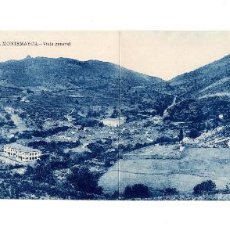 Postales: BAÑOS DE MONTEMAYOR.(CÁCERES).- VISTA GENERAL. DOBLE. Lote 147065766