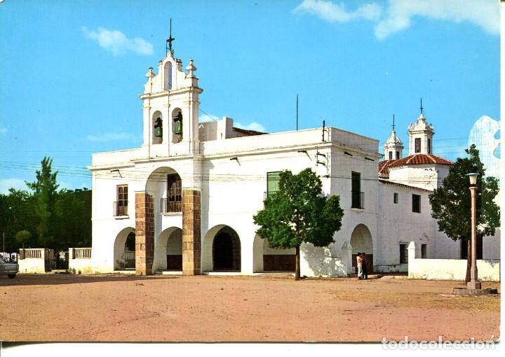 BADAJOZ-BURGUILLOS DEL CERRO-ERMITA DE SANTO CRISTO- AÑO 1972 (Postales - España - Extremadura Moderna (desde 1940))