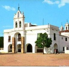 Postales: BADAJOZ-BURGUILLOS DEL CERRO-ERMITA DE SANTO CRISTO- AÑO 1972. Lote 147125042