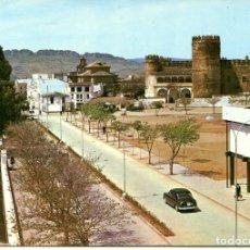 Postales: BADAJOZ--ZAFRA-PLAZA ALCAZAR Y CASTILLO- AÑO 1965- ARRIBAS. Lote 147156778