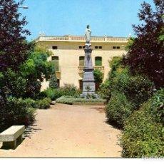 Postales: CÁCERES-VILLANUEVA DE LA SERENA-MONUMENTO AL SAGRADO CORAZÓN- AÑO 1966. Lote 147158098
