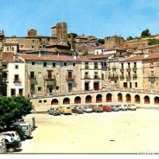 Postales: CÁCERES-TRUJILLO-PLAZA MAYOR- AÑO 1969. Lote 147162986