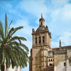 Postales: CÁCERES-CORIA-CATEDRAL FACHADA-AÑO 1978- ARRIBAS. Lote 147164514