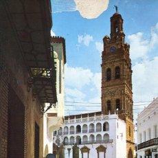 Postales: BADAJOZ- LLERENA-TORRE Y ARCO OJIVAL--AÑO 1973 . Lote 147164858