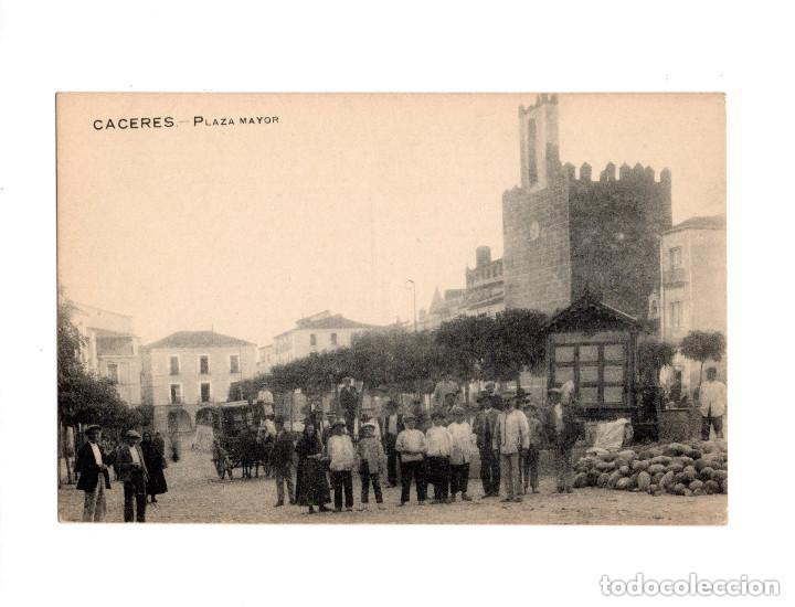 Postales: CÁCERES.- PLAZA MAYOR - Foto 1 - 147321750