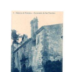Postales: VALENCIA DE ALCÁNTARA.(CÁCERES).- EXCONVENTO DE SAN FRANCISCO. Lote 147343662