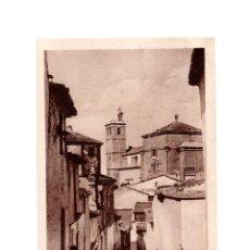 Postales: ALCÁNTARA.(CÁCERES).- CALLE DE LA SOLEDAD. Lote 147346358