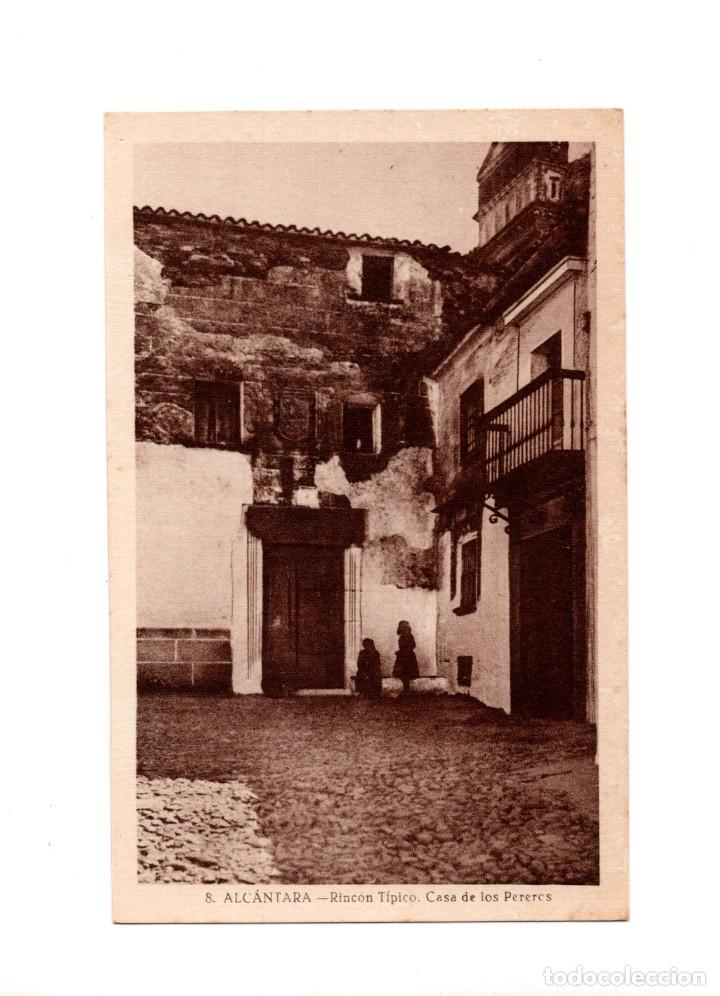 ALCÁNTARA.(CÁCERES).- RINCON TIPICO (Postales - España - Extremadura Antigua (hasta 1939))