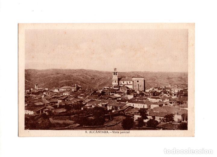 ALCÁNTARA.(CÁCERES).- VISTA GENERAL (Postales - España - Extremadura Antigua (hasta 1939))