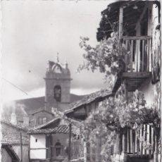 Postales: BAÑOS DE MONTEMAYOR (CACERES) - CASTILLEJO CALLE TIPICA. Lote 147635362