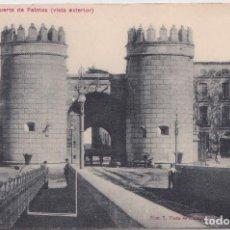 Postales: BADAJOZ - PUERTA DE PALMAS (VISTA EXTERIOR). Lote 147636310