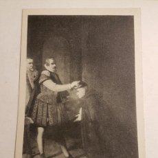 Postales: ENRIQUE III EL DOLIENTE DE ZURBARAN MONASTERIO GUADALUPE, CACERES. Lote 147778054